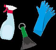掃除道具アイコンイラスト